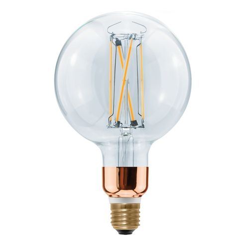 LED Globe Lampe - Klar E-27 - 15,0 Watt (75W) 2.200 Kelvin - Dimmbar HighBrightness - T-125