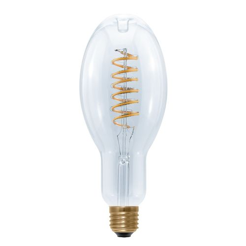 "LED Glühlampe Ellipse E-27 - 12,0 Watt (45W) 2.200 Kelvin - Dimmbar Curved ""Spirale"""