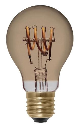 LED Glühlampe - Klar  . E-27 - 4,0 Watt (16W) 2.000 Kelvin - Dimmbar Golden Glass - Curved
