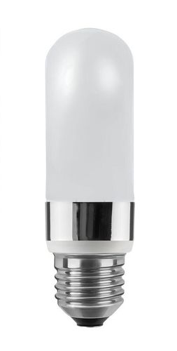 LED Röhrenlampe - Matt E-27 - 7,0 Watt (48W) 2.600 Kelvin - Dimmbar Tube - High-Power