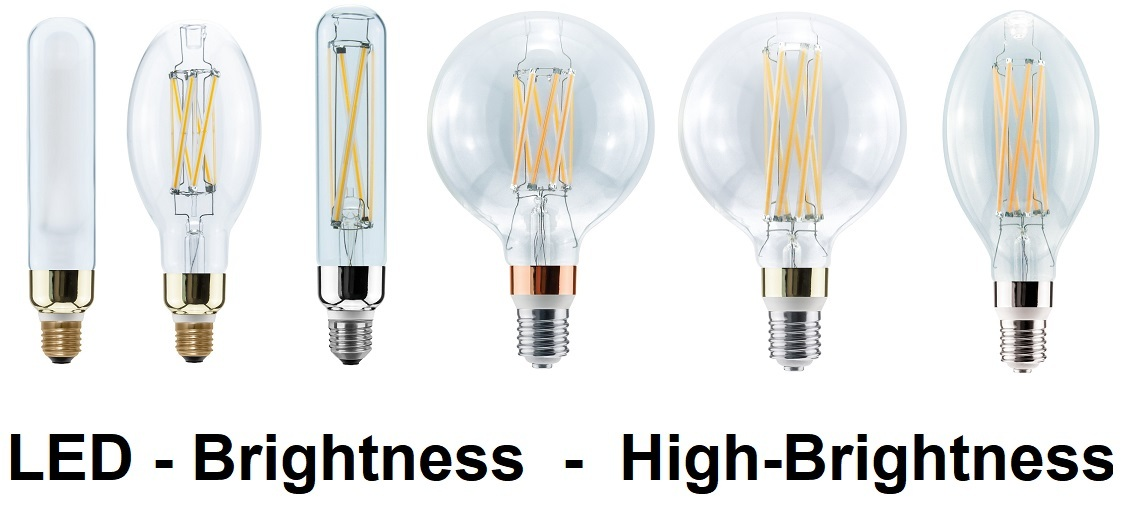 LED Brightness & High-Brightness Lampen